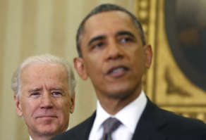 Barack And Vice-President, Joe Biden