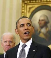 Barack And Vice-President, Joe Biden