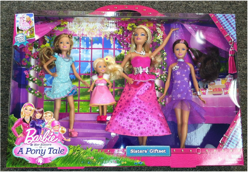 Barbie and Her Sisters in a ponytale Giftset
