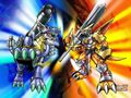 Battle Vrs 3 - digimon wallpaper
