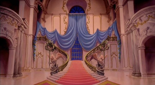 Disney Princess wallpaper entitled Beauty and the Beast - scenery