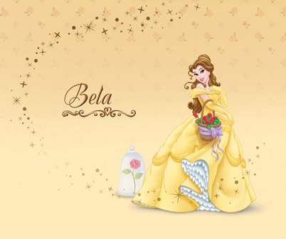 Beauty and the Beast wallpaper called Belle