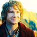 Bilbo Baggins sees the Lonely Mountain