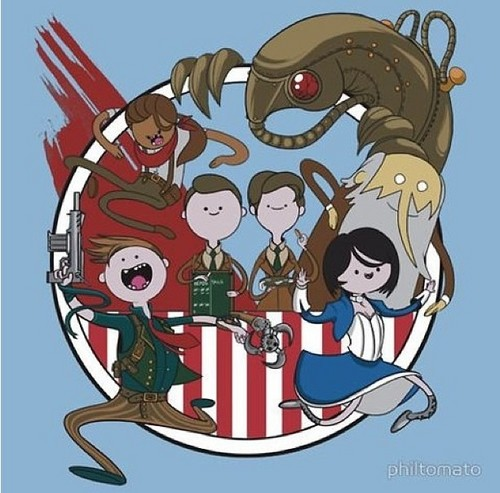 Bioshock: Infinite Adventure Time Style!