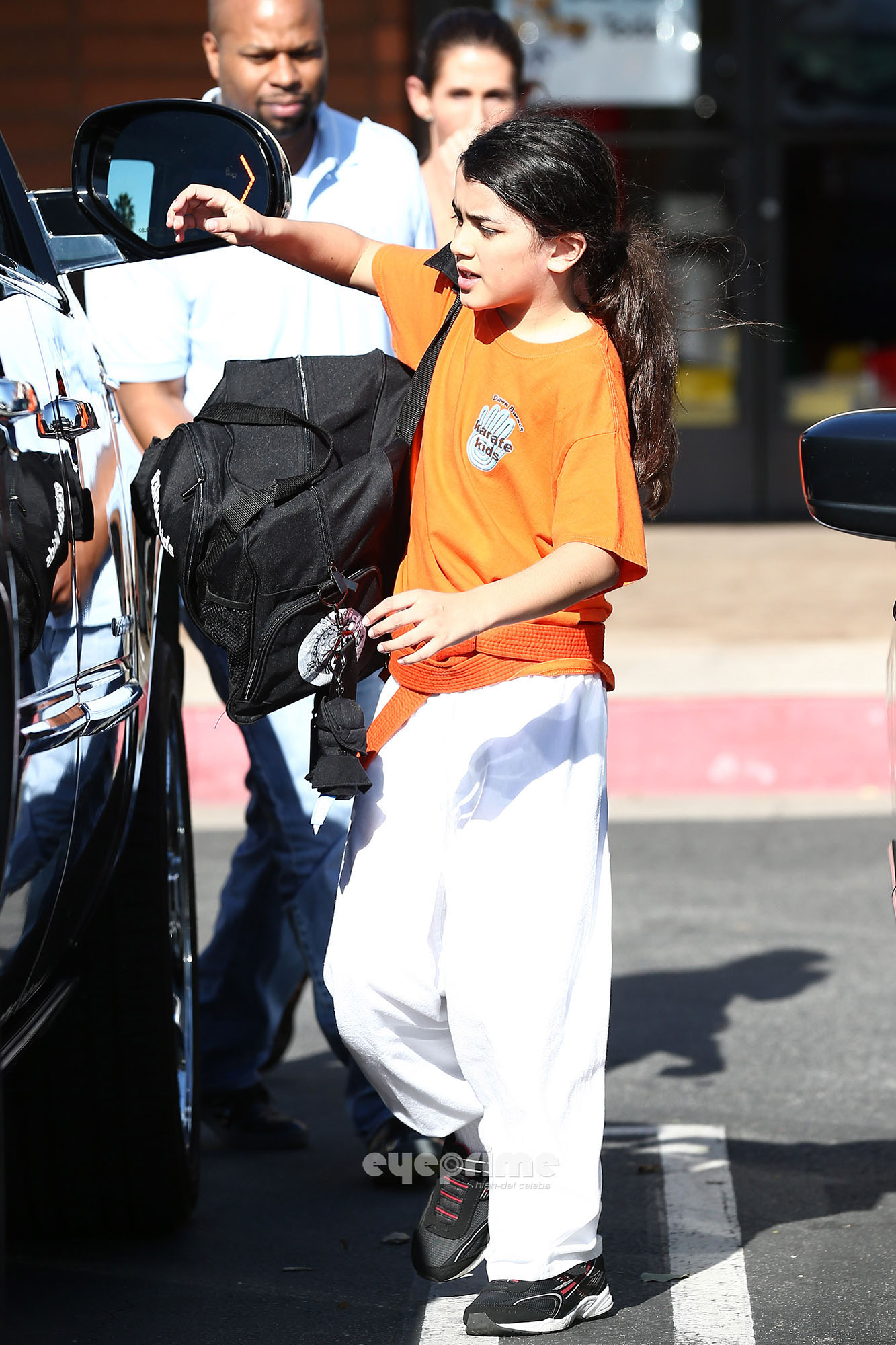 Blanket Jackson at the Karate Dawn in Encino NEW May 2013 ♥♥