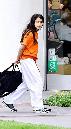Blanket Jackson wolpeyper titled Blanket Jackson at the Karate in Encino NEW May 2013 ♥♥