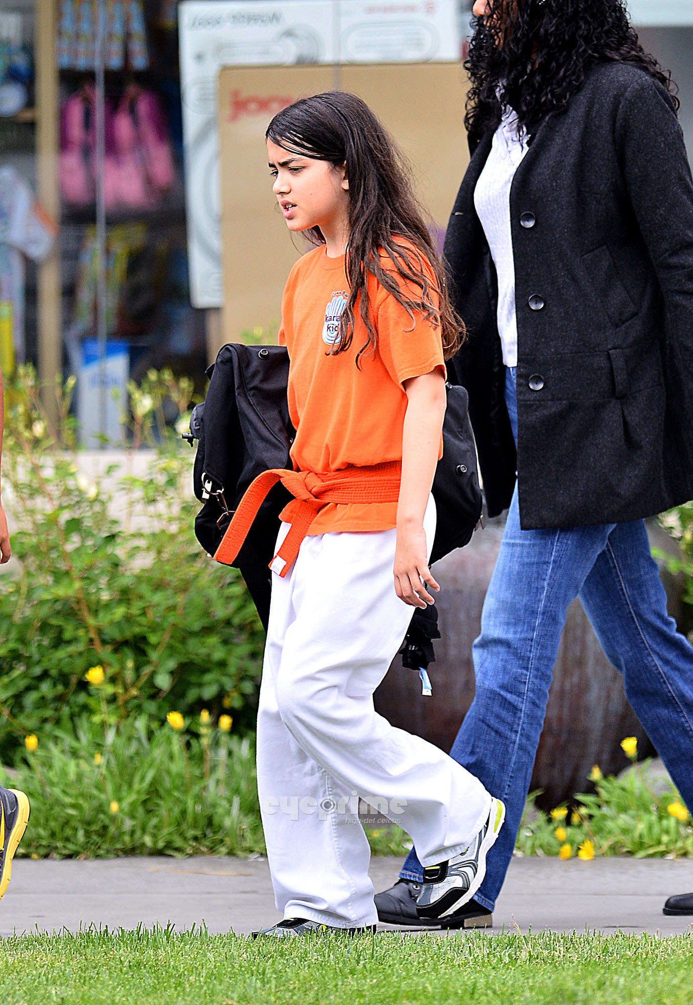 Blanket Jackson at the Karate in Encino NEW May 2013 ♥♥