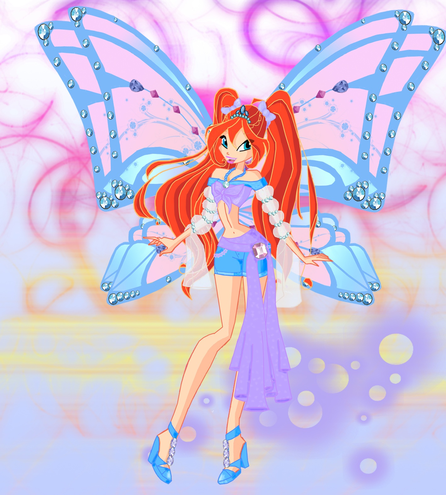 Winx Vs Trix Images Bloom Hd Wallpaper And Background Winx Club Bloom
