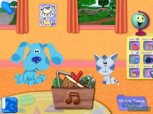Blue Takes आप to School screenshot