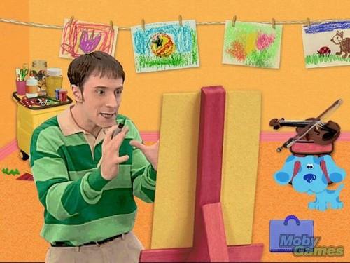 Blue's Art Time Activities screenshot