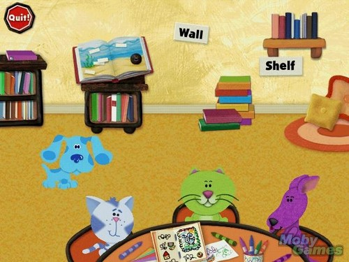 Blue's पढ़ना Time Activities screenshot