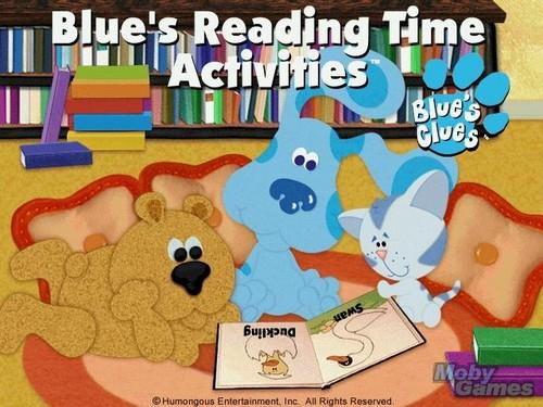 Blue's 阅读 Time Activities screenshot
