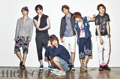 Boyfriend - High Cut 2013