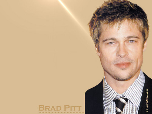 Brad Pitt Hintergrund containing a business suit and a suit titled Bradd