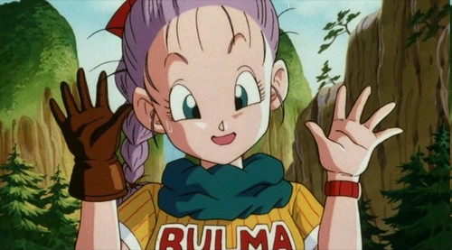 Bulma Purple Hair