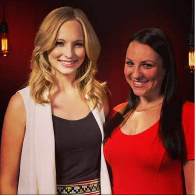 Candice at the TV Guide studios [01/05/13]