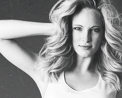 Candice Accola kertas dinding with attractiveness and a portrait titled Candice