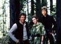 Carrie Fisher, Mark Hamill & Harrison Ford - star-wars photo