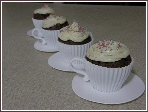 Carrot चॉकलेट Mud कप केक Recipe