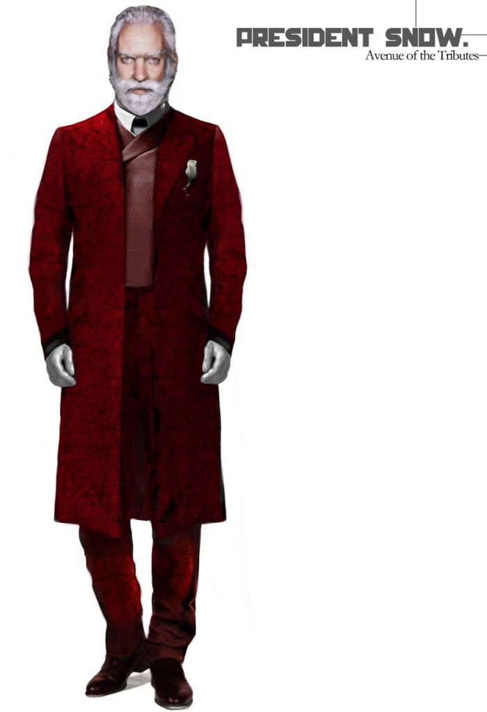 The Hunger Games Catching Fire Costume IllustrationsCatching Fire Tribute Costumes