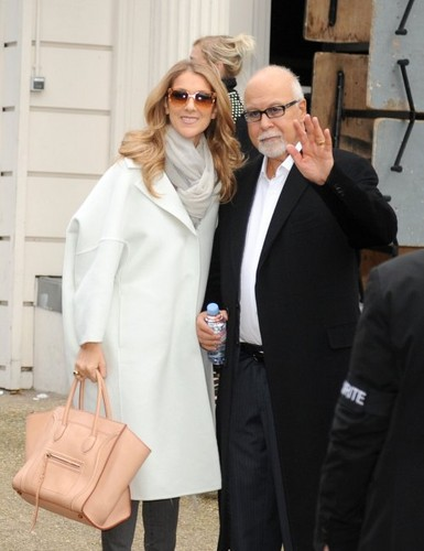 Celine With Manager/Husband, Rene Angelil