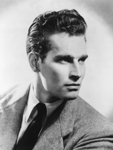 クラシック映画 壁紙 containing a business suit titled Charlton Heston