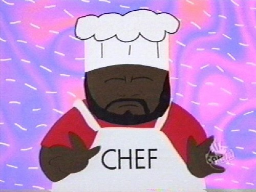 South Park wolpeyper titled Chef
