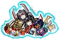 Chibi Decepticons - transformers photo