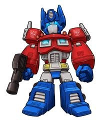 Transformers wallpaper probably containing a shoulder pad entitled Chibi OP