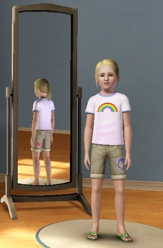 Child Angie in Sims 3