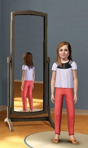 Child Yasmin in Sims 3