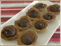 Chocolate Anzac Biscuit - chocolate photo
