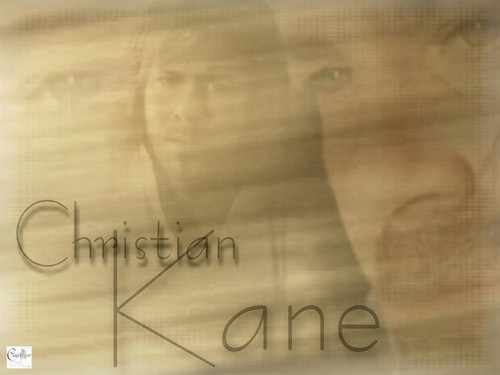 Christian Kane kertas dinding containing a sign titled Christian Kane