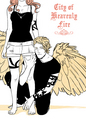 City of Heavenly fogo art por Cassandra Jean
