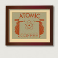 Coffee Art Atomic Coffee - coffee fan art