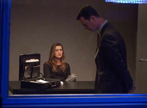 Cote de Pablo (Ziva David) NCIS - Unità anticrimine 10x23 Double Blind episode stills