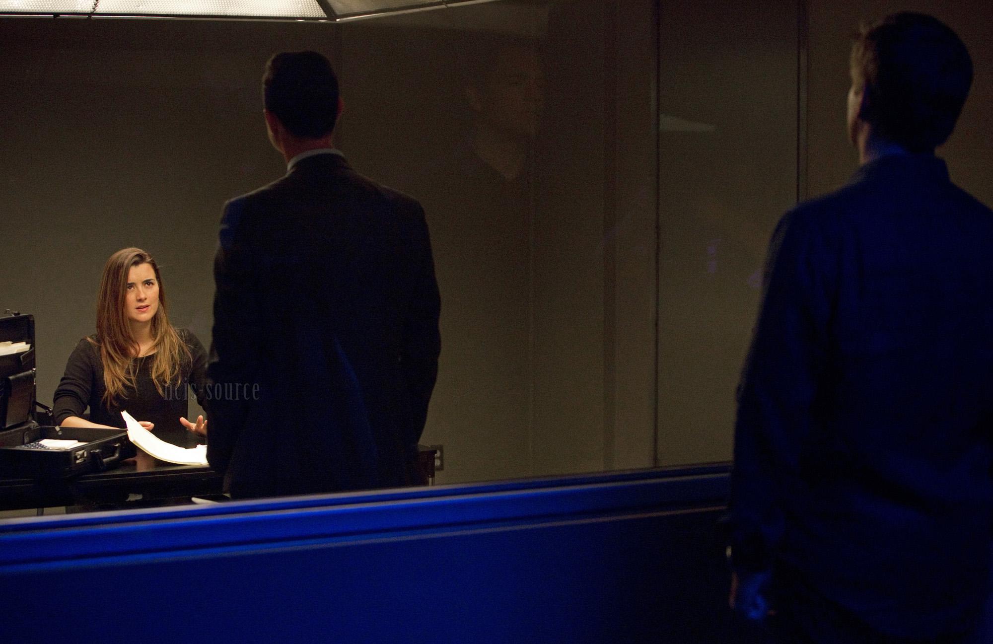 Cote de Pablo (Ziva David) NCIS 10x23 Double Blind episode stills