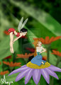 Crysta and Thumbelina