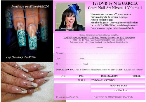 DVD NAIL ART