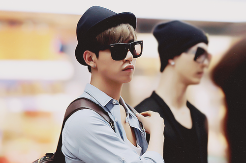 Daehyun Hintergrund containing sunglasses titled Daehyun