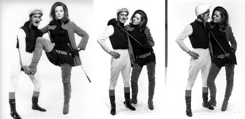 Dame Diana promo shoots