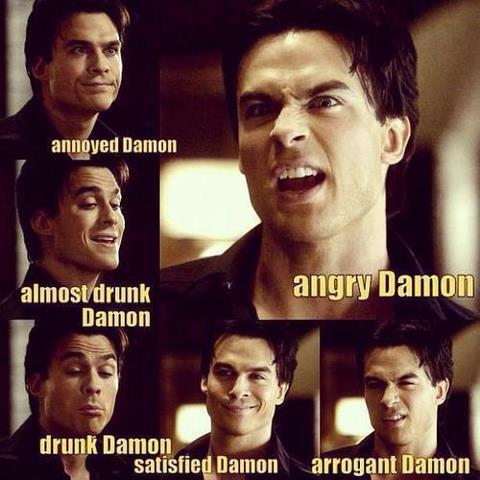 Damon's moods