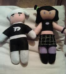 Danny and Sam dolls