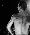 Dave's back tattoo - depeche-mode photo