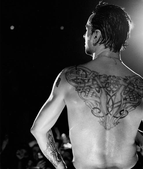Daves Back Tattoo  Depeche Mode Photo 34319891 Fanpop