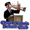 Debate with Chuck Norris - debate photo