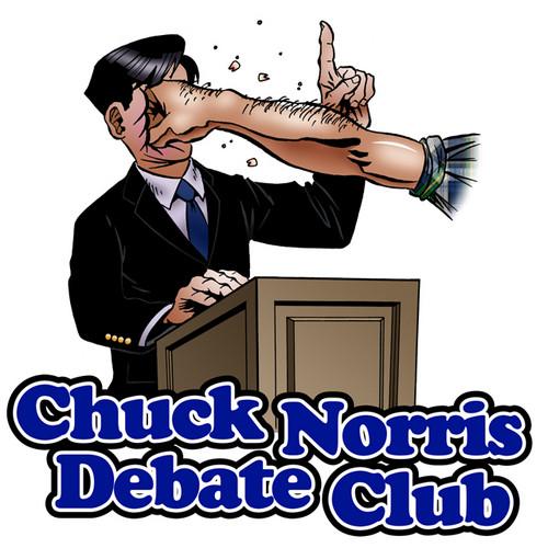 Debate with Chuck Norris