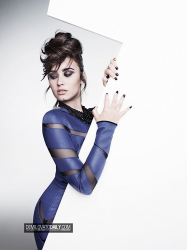 Demi Lovato wallpaper containing a leotard and tights titled Demi - Photoshoots 2013 - Heart Attack