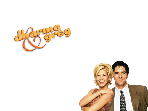 Dharma & Greg wallpaper probably containing a bridesmaid, a portrait, and skin entitled Dharma & Greg