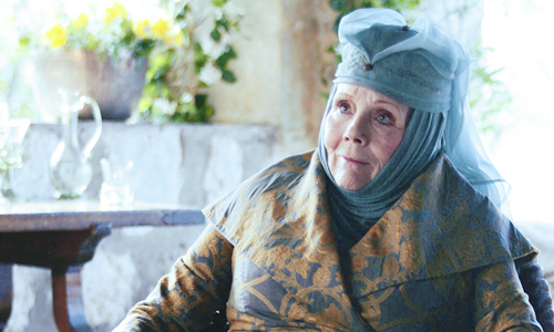 Diana as Olenna Tyreel